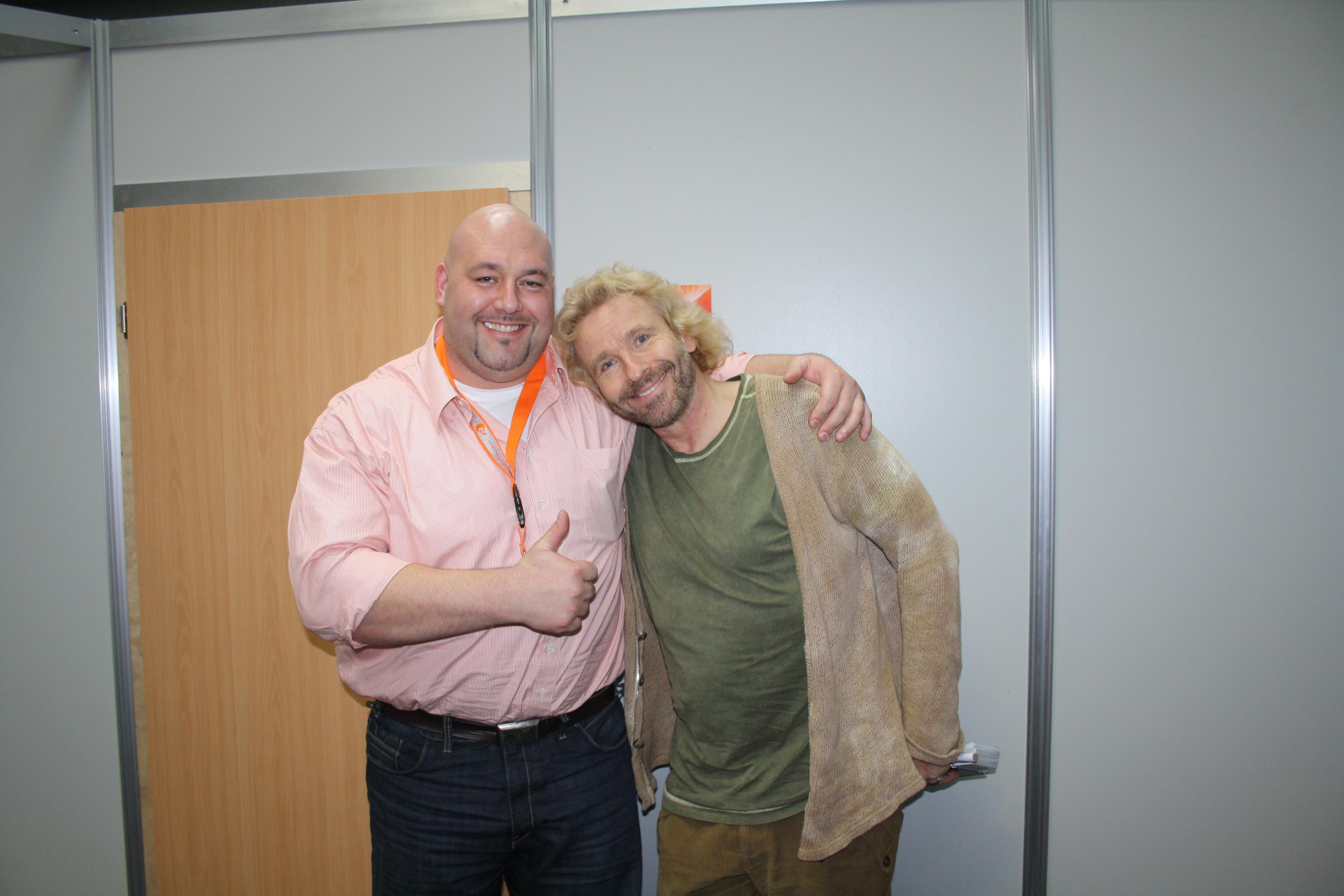 Zusammen mit Thomas Gottschalk