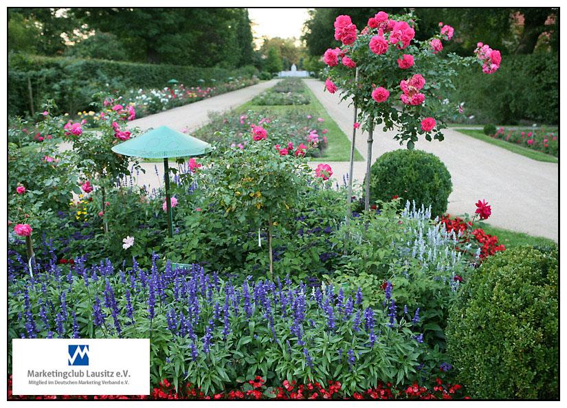 Der Rosengarten. Ein wundervoller Abend.