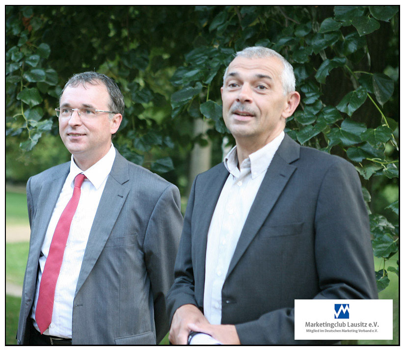 Dr. Jürgen Goldschmidt mit unserem Vizepräsident Gerd Winter